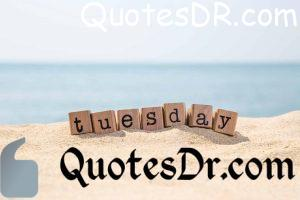 Beautiful Tuesday Quotes