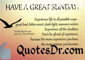 Best Sunday Quotes