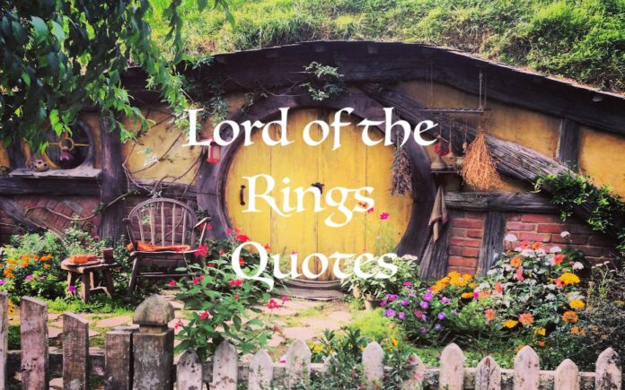 lord of the rings quotes