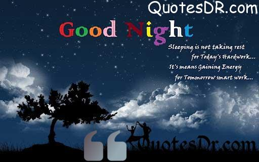 Sexy Good Night Quotes for Him