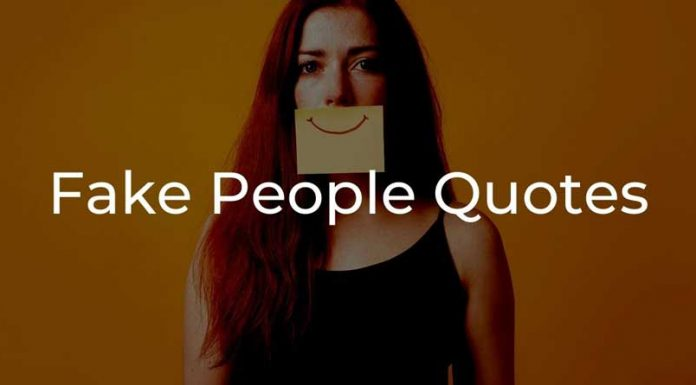 quotes about fake people